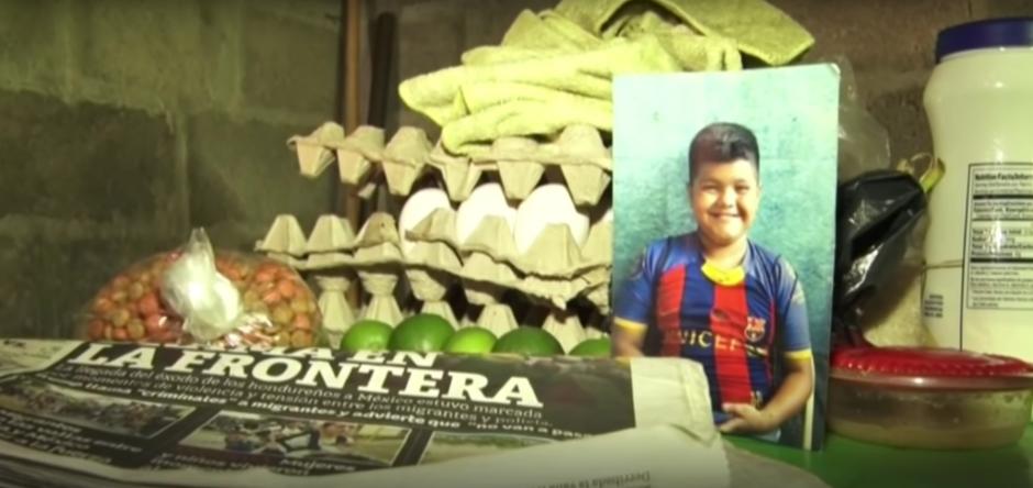 Una foto de Mario y algunos juguetes son lo único que su familia posee de él. (Foto: captura de pantalla)