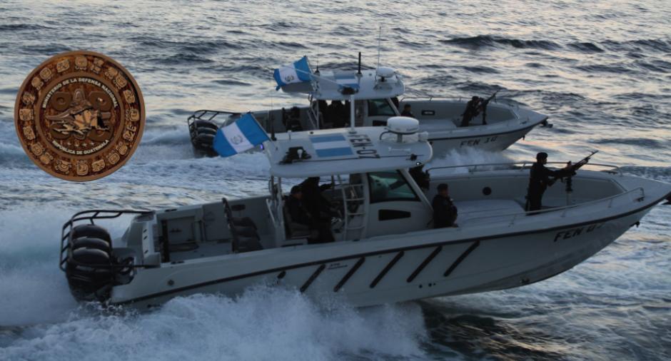 La Fuerza Naval de Guatemala recibió una donación de lanchas, según Jimmy Morales. (Foto: cortesía del Gobierno)
