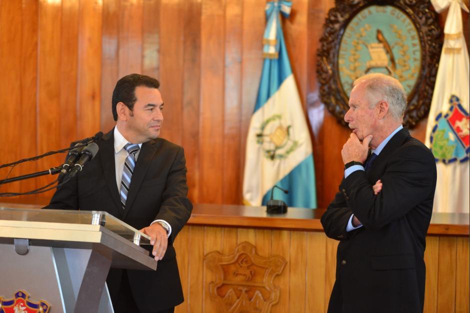 Arzú respaldó a Morales en sus últimos días de vida. (Foto: Archivo/Soy502)