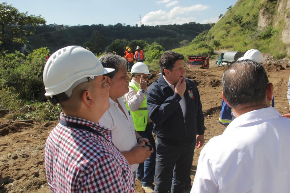 Autoridades municipales esperan que el proyecto avance con rapidez. (Foto: Fredy Hernández/Soy502)