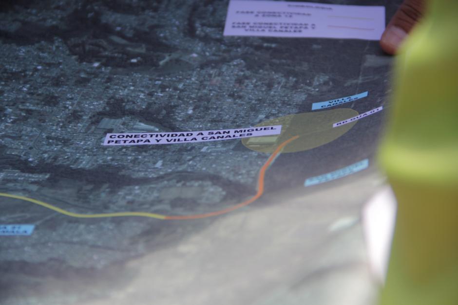 El trayecto nuevo será de unos 8 kilómetros. (Foto: Fredy Hernández/Soy502)