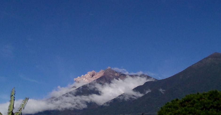Se despierta el Volcán de Fuego