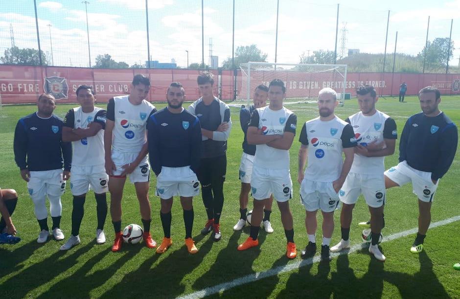 La selección nacional ya regresó a Guatemala