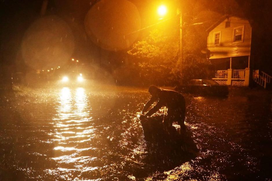 Este viernes, el huracán Florence tocó tierra en Estados Unidos. (Foto: AFP)