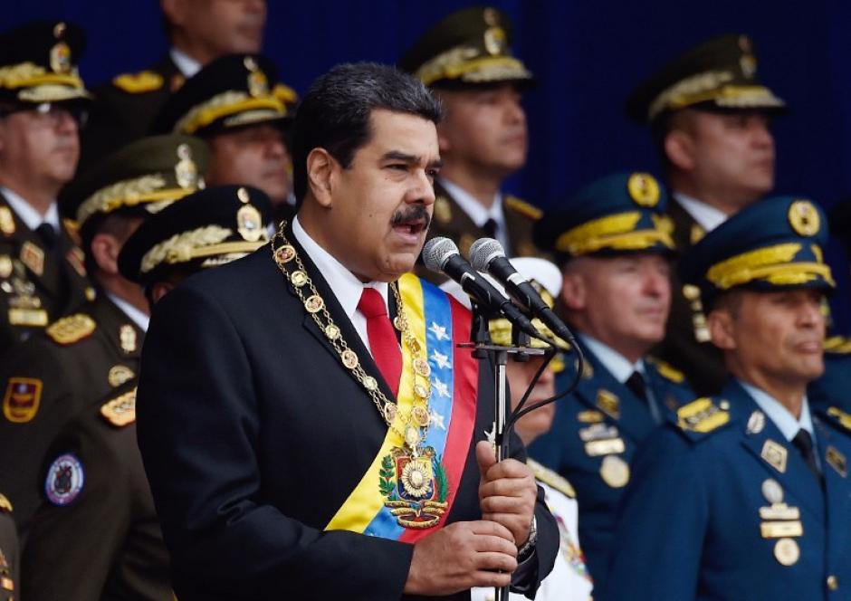 El presidente de Venezuela Nicolás Maduro fue captado enel restaurante del chef