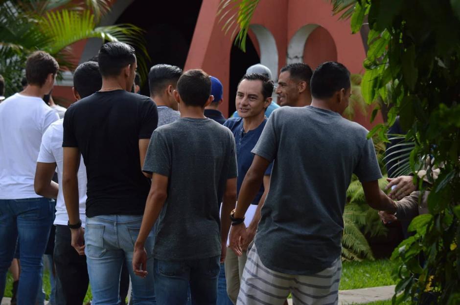 El sindicato de futbolistas de Guatemala anunció medidas de hecho. (Foto: Rudy Martínez/Soy502)