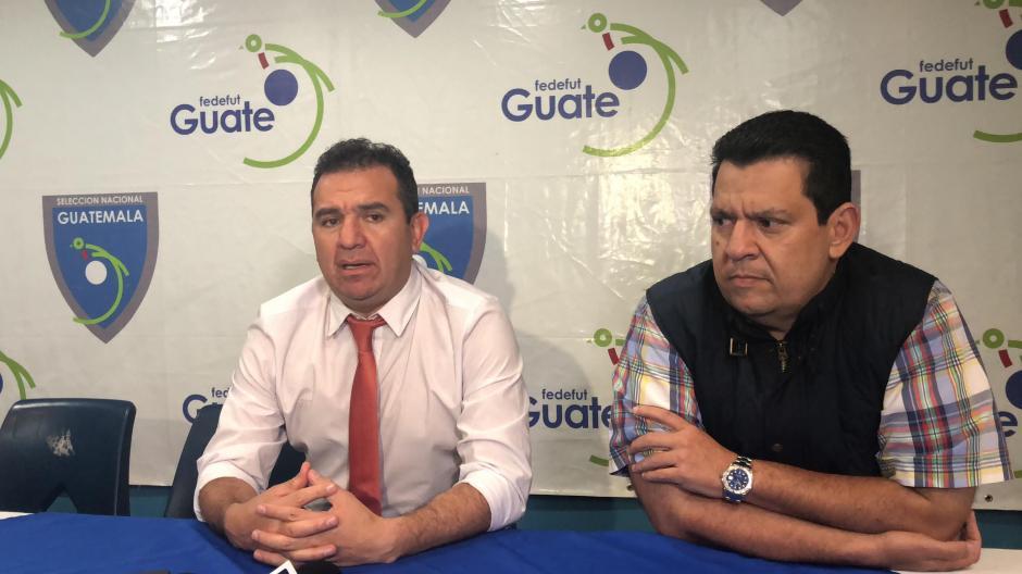 Dirigentes de la Liga Nacional se reunieron para tratar el tema sobre el paro en el fútbol nacional. (Foto: Luis Barrios/Soy502)