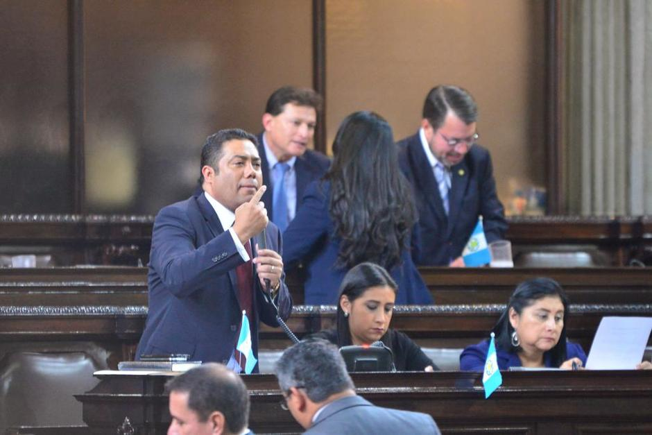 """Los diputados discutieron durante más de una hora y finalmente aprobaron solicitar que """"Marduk"""" no ingrese al país. (Foto: Jesús Alfonso/Soy502)"""