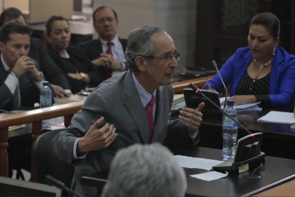 El expresidente Álvaro Colom presentó un recurso legal en la Sala Segunda de Apelaciones. (Foto: archivo/Soy502)
