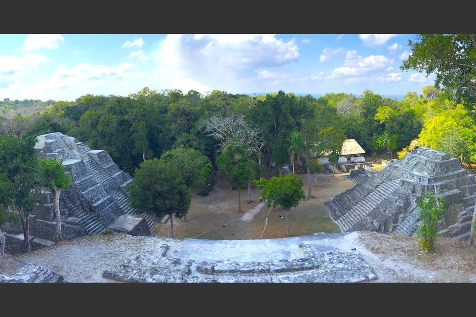 Así es la vista que te ofrece desde las alturas la Acrópolis Norte. (Foto: Fredy Hernández/Soy502)