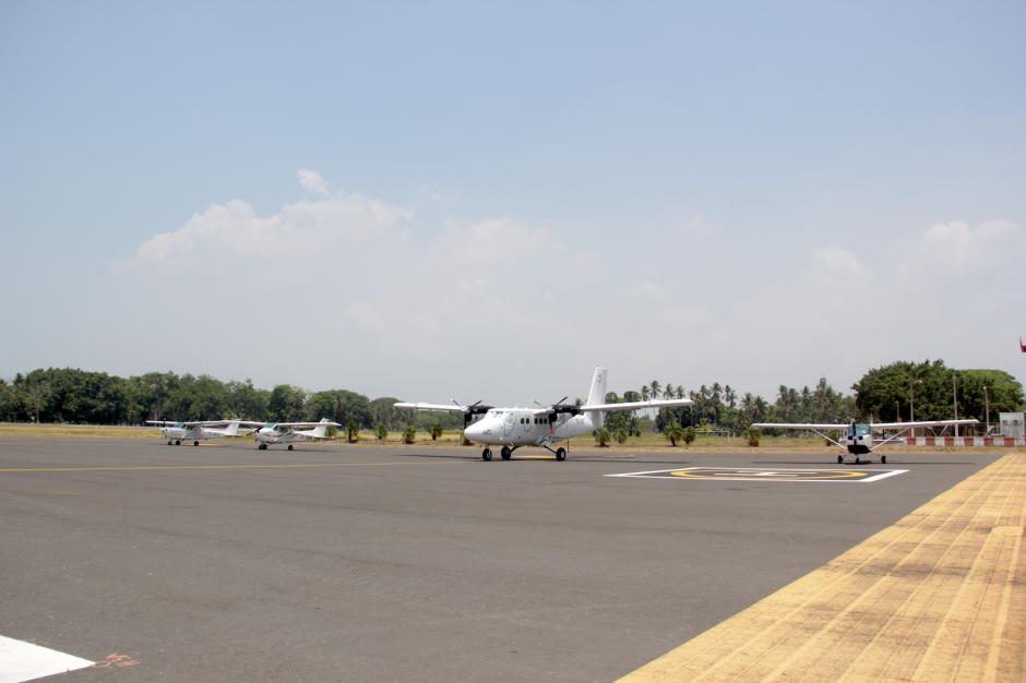 Una empresa busca promover los vuelos entre Huehuetenango y Escuintla. (Foto: Fredy Hernández/Soy502)