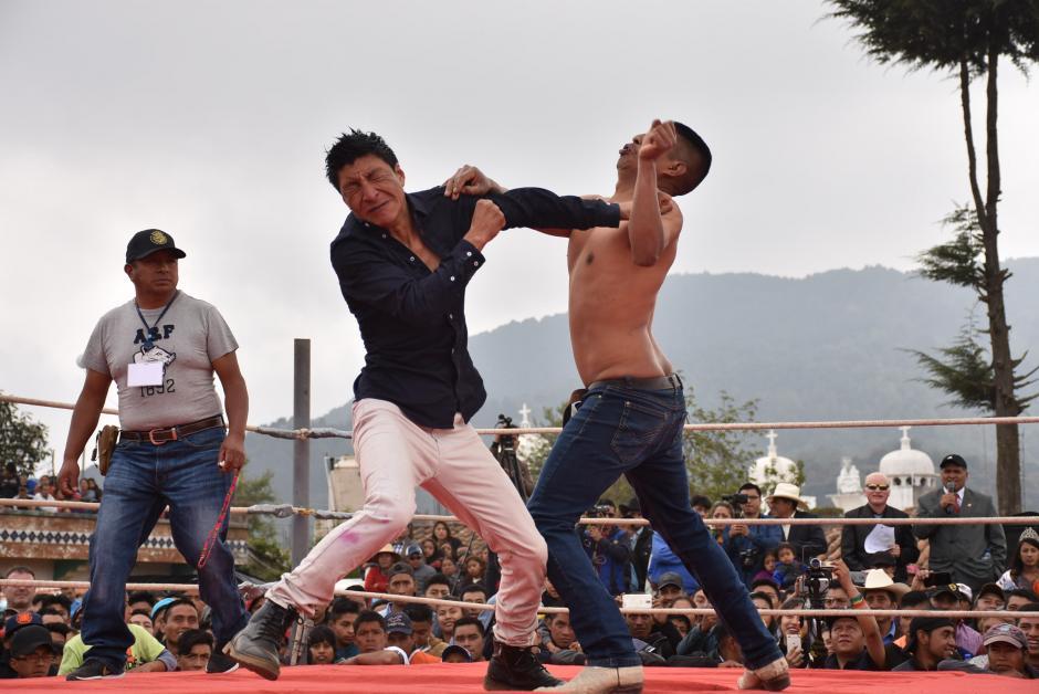 La pelea no tiene ganador y no hay premios de por medio. (Foto: Daniel García)