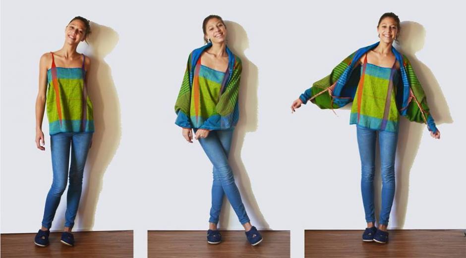 Las telas son textiles guatemaltecos hechas de productos naturales. (Foto: Pla)