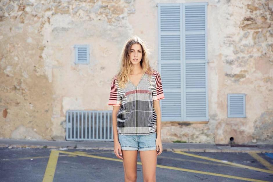 La diseñadora alemana Irene Peukes elaboró una marca de ropa hecha en Guatemala. (Foto: Pla)