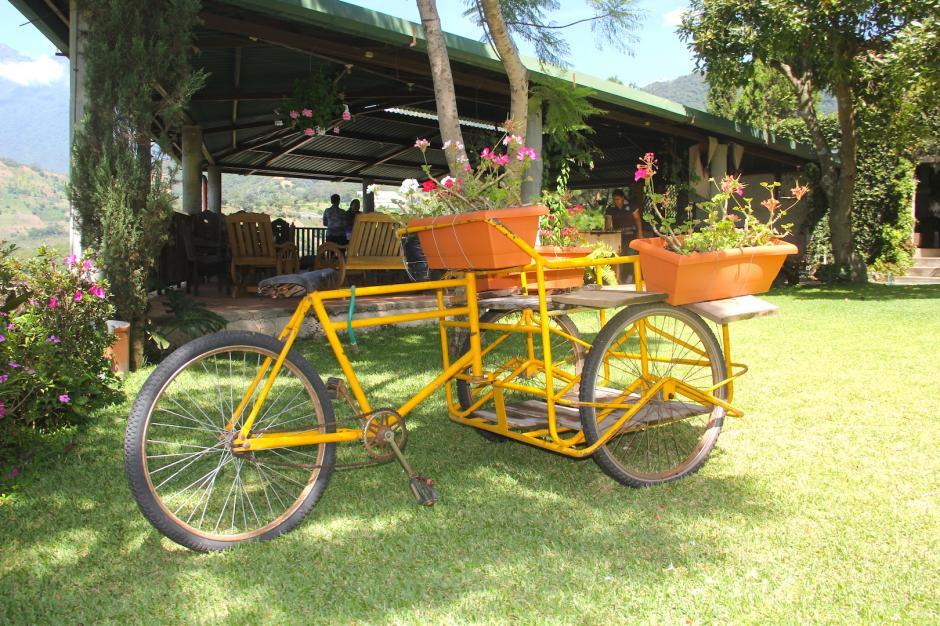 También cuenta con un jardín en el que se pueden realizar eventos al aire libre. (Foto: Fredy Hernández/Soy502)