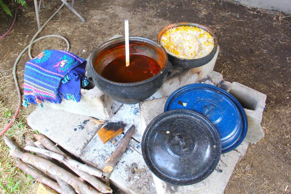 El pepián es la comida que se sirve en ocasiones especiales en este pueblo. (Foto: Fredy Hernández/Soy502)