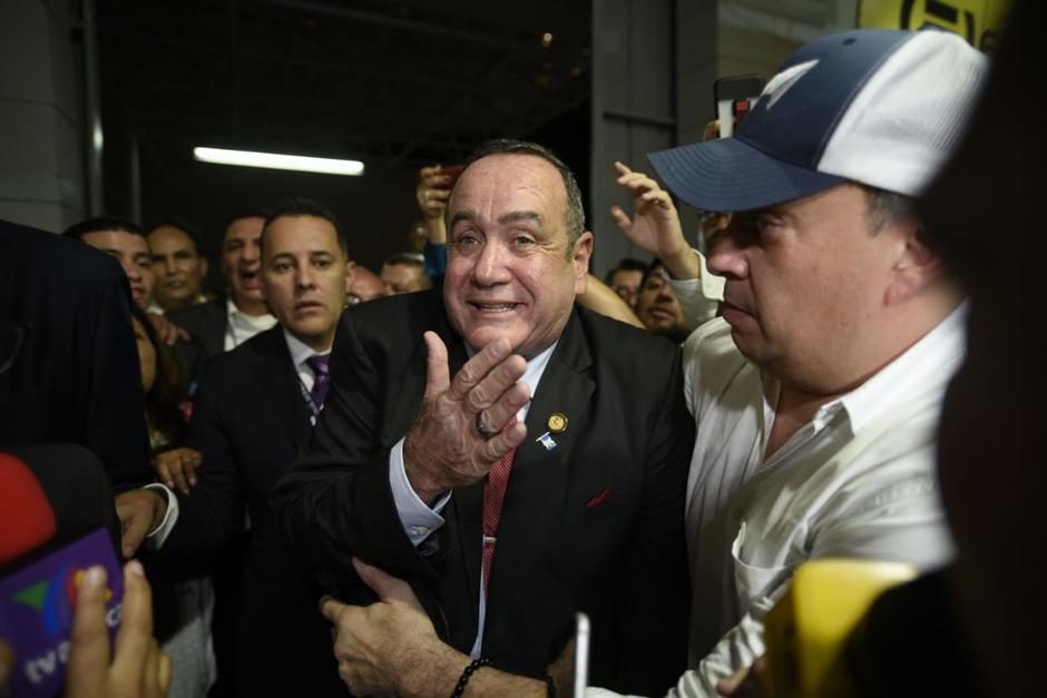 Giammattei rompió una tendencia histórica al triplicar sus resultados en segunda vuelta. (Foto: Wilder López/Soy502)