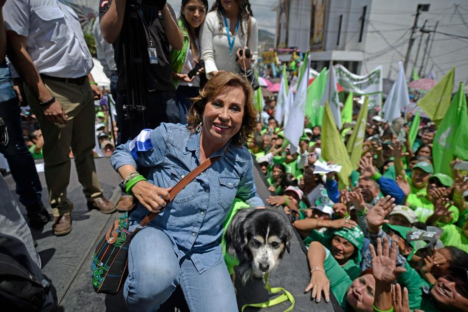 Sandra Torres volvió a perder en segunda vuelta. (Foto: Wilder López/Soy502)