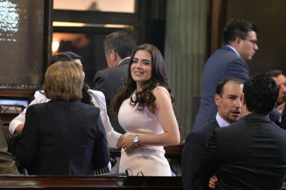 Patricia Sandoval, actual diputada de FCN, le dio la espalda a su partido y apoyó a Sandra Torres, pero esta alianza no perjudicó a la candidata de la UNE. (Foto: Archivo/Soy502)