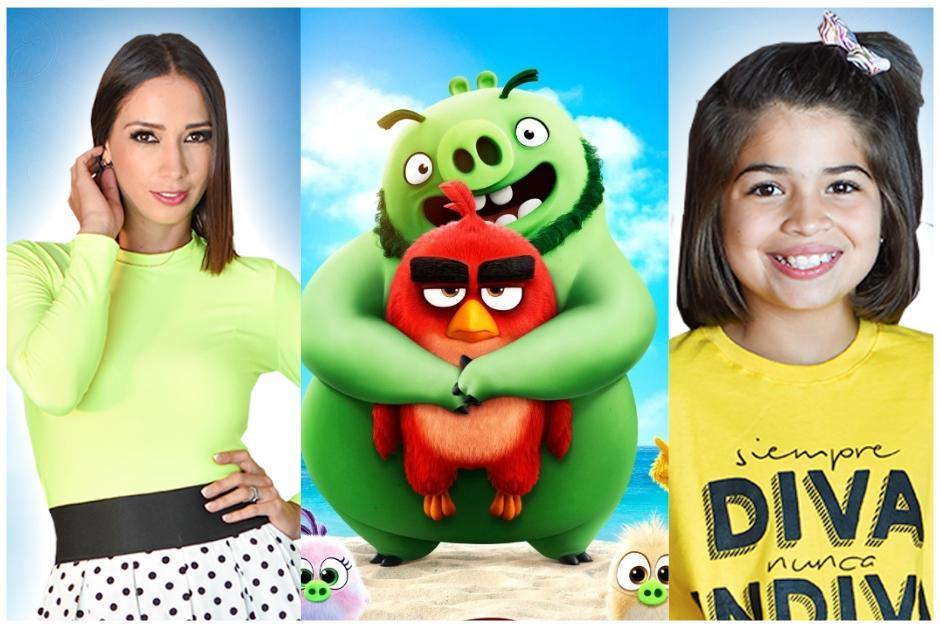 Mamá e hija darán voz a varios personajes de la película infantil. (Fotomontaje:Erivan Campos)