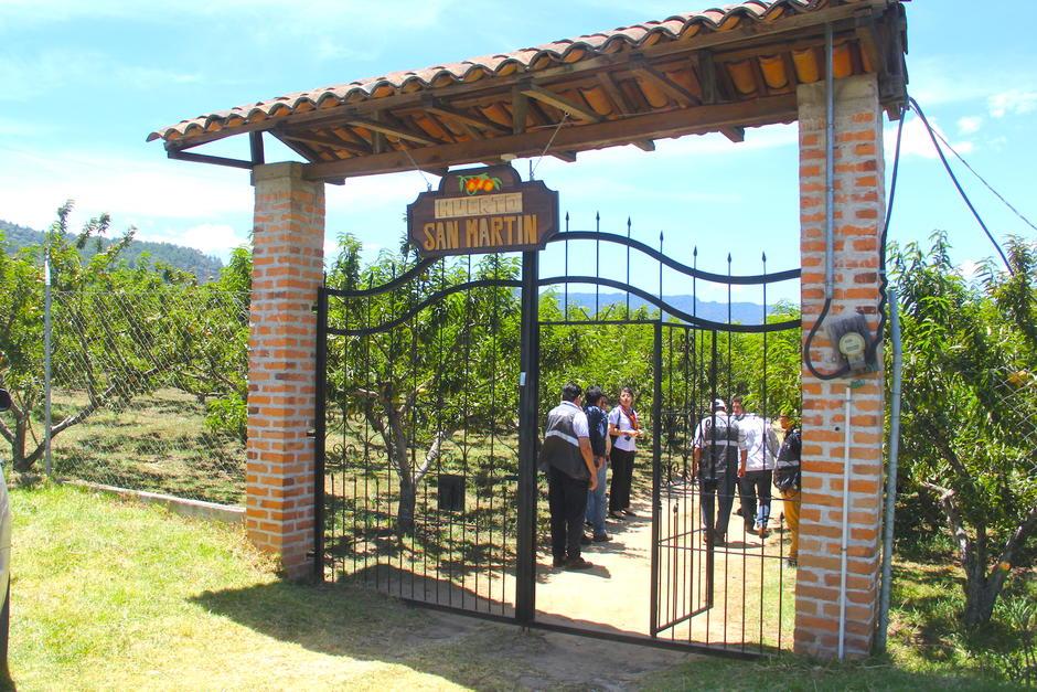 El huerto San Luis busca ser el pionero en el área abierta para los turistas. (Foto: Fredy Hernández/Soy502)