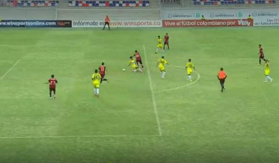 Juvenil anota un gol