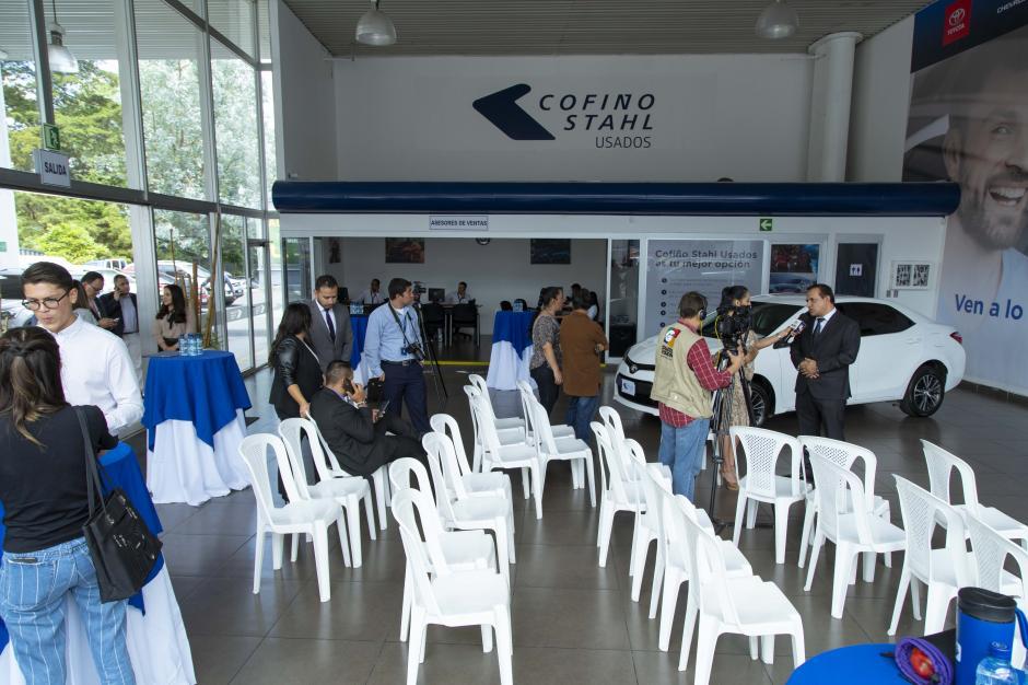 La nueva sala de ventas es amplia y cómoda. (Foto: George Rojas/Soy502)