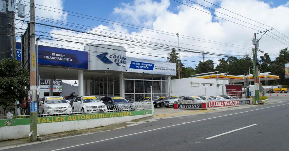 Agencia Arrazola de Cofiño Stahl Usados se ubica en Km. 17.5 de carretera a El Salvador. (Foto: George Rojas/Soy502)