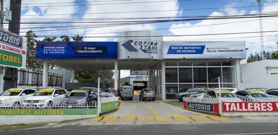 Así luce la nueva Agencia Arrazola de Cofiño Stahl. (Foto: George Rojas/Soy502)