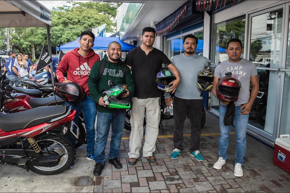 Se vivió un buen ambiente con los participantes de la caravana. (Foto: Melissa Menéndez/Soy502)