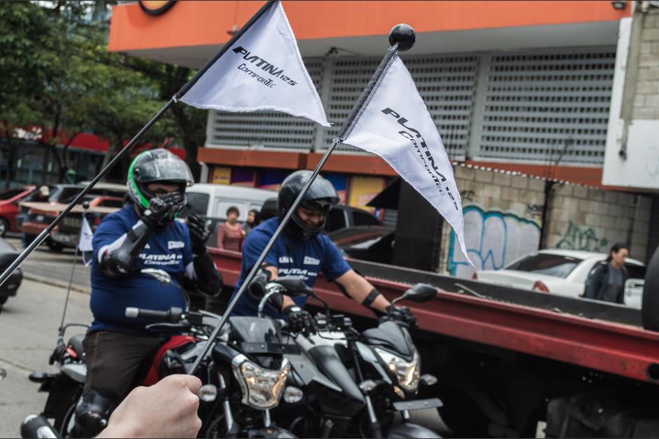 Inicio de caravana Platina. (Foto: Melissa Menéndez/Soy502)