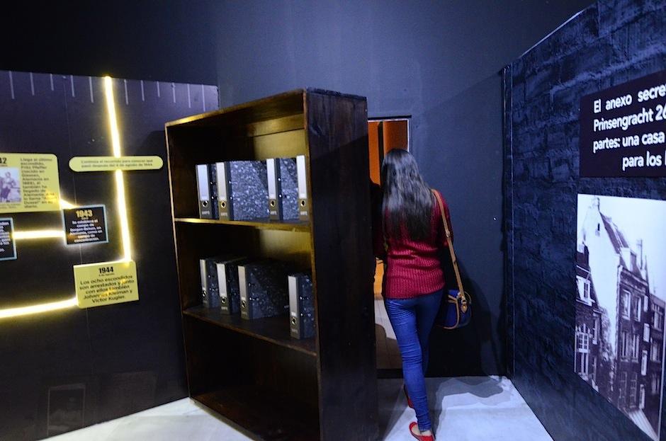 """Esta es una experiencia vivencial para quienes han leído """"El diario de Ana Frank"""".  (Foto: Selene Mejia/Soy502)"""