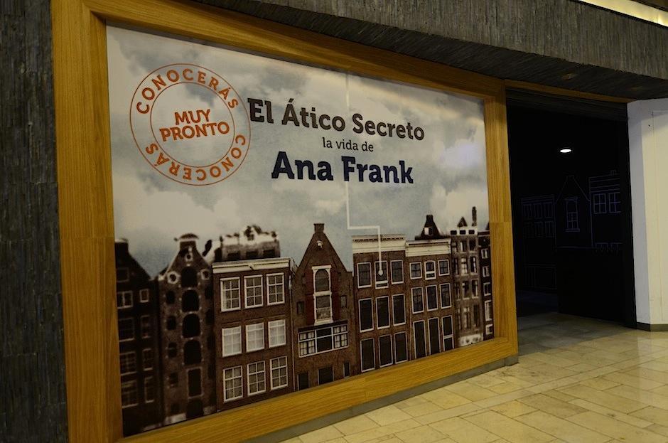Ya está abierta al público la exposición de la vida de Ana Frank. (Foto: Selene Mejia/Soy502)