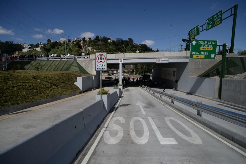 Esta obra pretende beneficiar a más de 130 mil carros al día. (Foto: Wilder López/Soy502)
