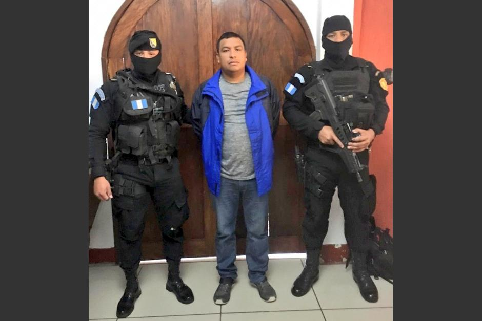 "La PNC señala a ""Miguelito"" de tener vínculos con un cártel colombiano. (Foto: PNC)"