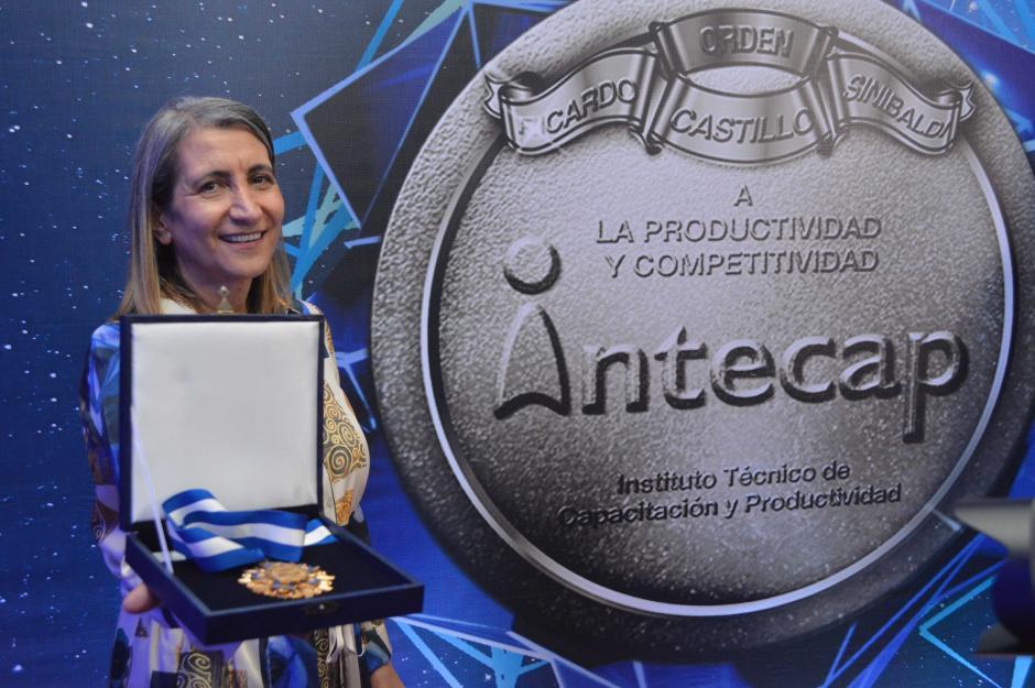 Patricia Spat, gerente general en Bayer Guatemala. (Foto: Fernando Pinetta)