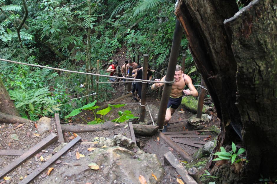 El esfuerzo físico para ascender tiene su recompensa al final del camino. (Foto: Fredy Hernández/Soy502)