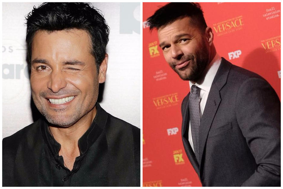 Ricky Martin compite con Chayanne. (Fotos: AFP)