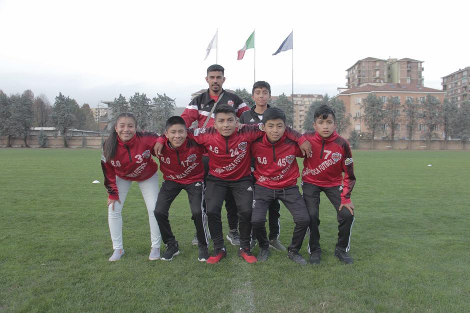 El equipo ganador de Guatemala.