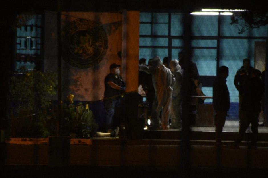 La escena del crimen fue procesada por el Ministerio Público. (Foto: Wilder López/Soy502)