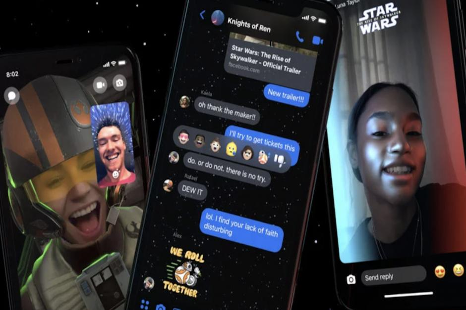 El tema estará disponible en Facebook Messenger hasta mediados de enero de 2020 (Foto: canalnet.tv)