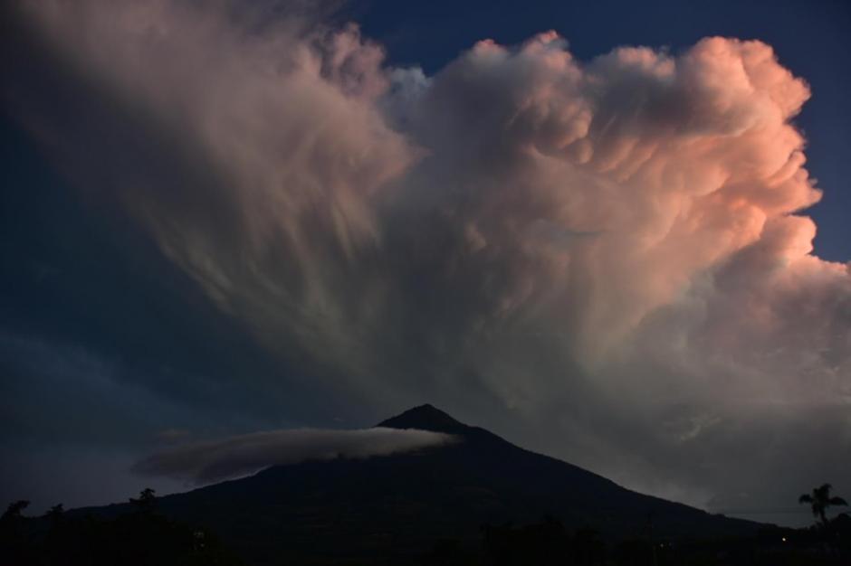 El evento natural es uno de los más impresionantes del mes de diciembre. (Foto: Fredy Hernández/Soy502)