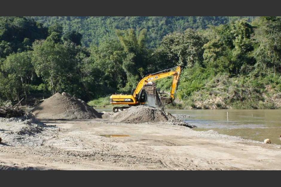 La extracción de arena en obras de construcción no representa ningún costo. (Foto: La Voz de Argentina)