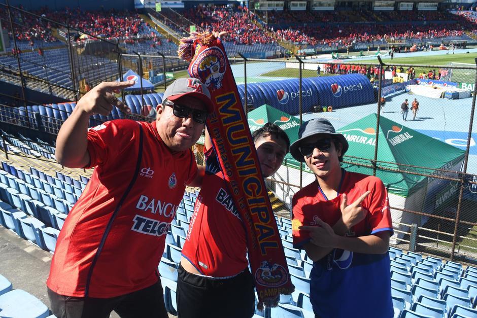 En el partido de ida, Municipal derrotó a Antigua un gol por cero. (Foto: Rudy Martínez/Soy502)
