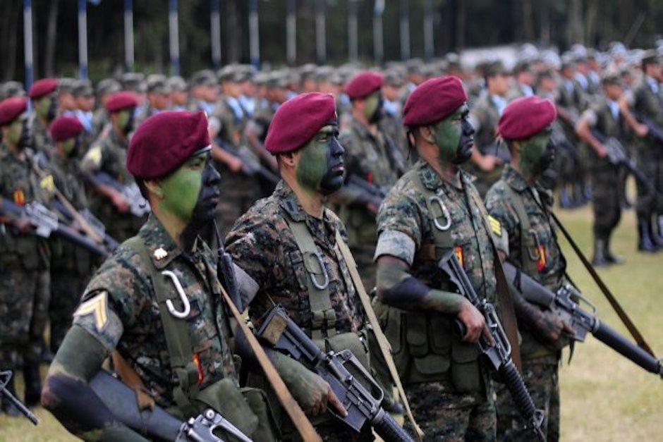 Los Kaibiles son integrantes del grupo de élite del Ejército cuya principal misión es combatir el narcotráfico. (Foto ilustrativa: alternativalatinoamericana)
