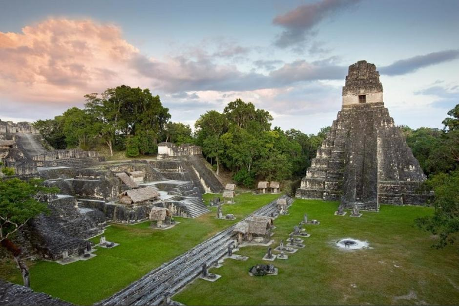 El sitio arqueológico Tikal es uno de los escenarios donde se filmó el video de Piso 21. (Foto: National Geographic)