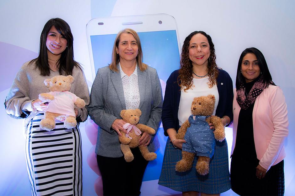 """Natele, el suplemento multivitamínico de Bayer, presenta: """"Natele APP"""", innovadora aplicación para embarazadas y mujeres que están en su etapa de planificación. (Foto: Victor Xiloj/Soy502)"""