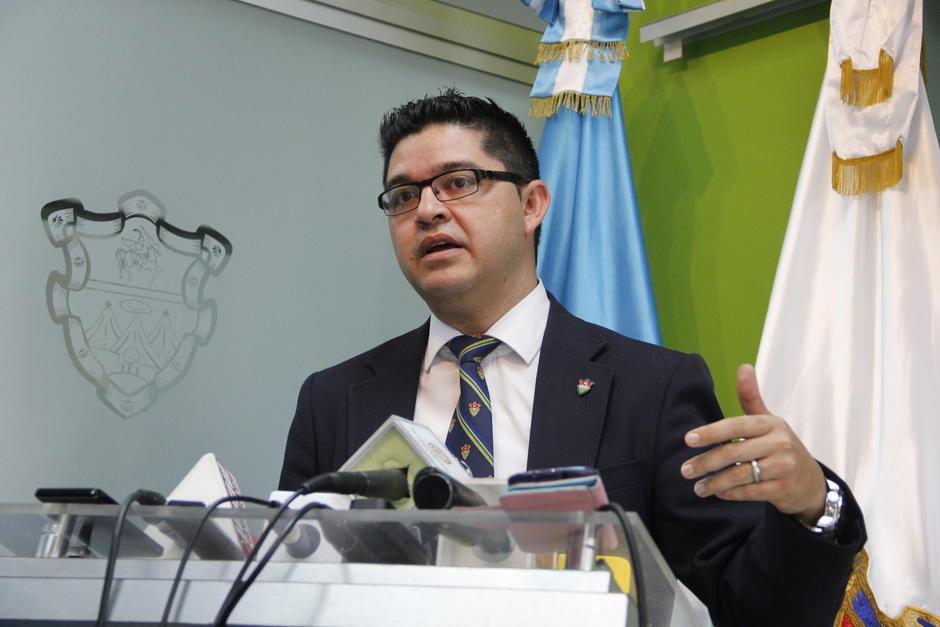 El portavoz de la Municipalidad de Guatemala busca iniciar con buen pie su carrera política. (Foto: Soy502)