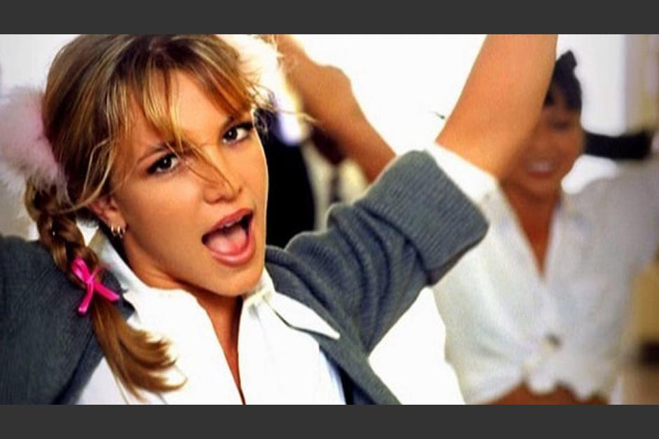 "Ya so 20 años los de ""Baby one more time"". (Foto: captura de pantalla)"