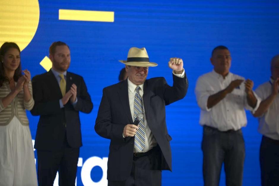 Pablo Duarte dijo que inició su carrera política cuando Álvaro Arzú fue presidente de Guatemala. (Foto: Wilder López/Soy502)